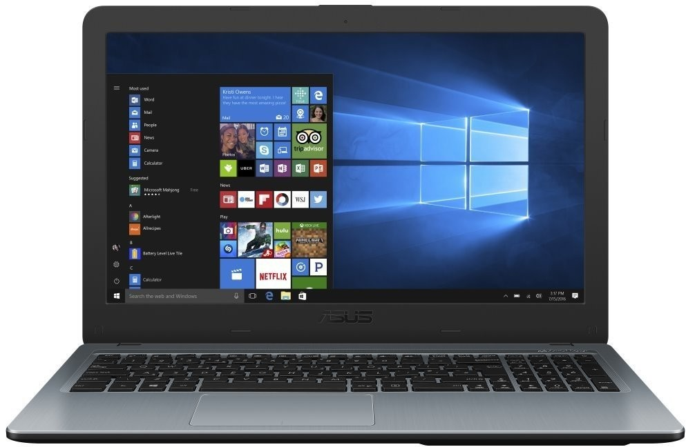 "Základní notebook Notebook ASUS X540UA 15,6"" Pentium 4GB, SSD 256GB, X540UADM1674T"