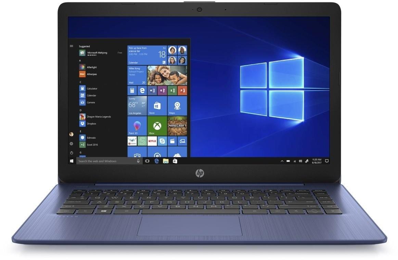 """Základní notebook Notebook HP 14-ds0006nc 14"""" AMD A4 4GB, 64GB, Blue"""