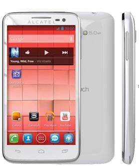Základní telefon ALCATEL ONETOUCH 5035D X´POP Pure White