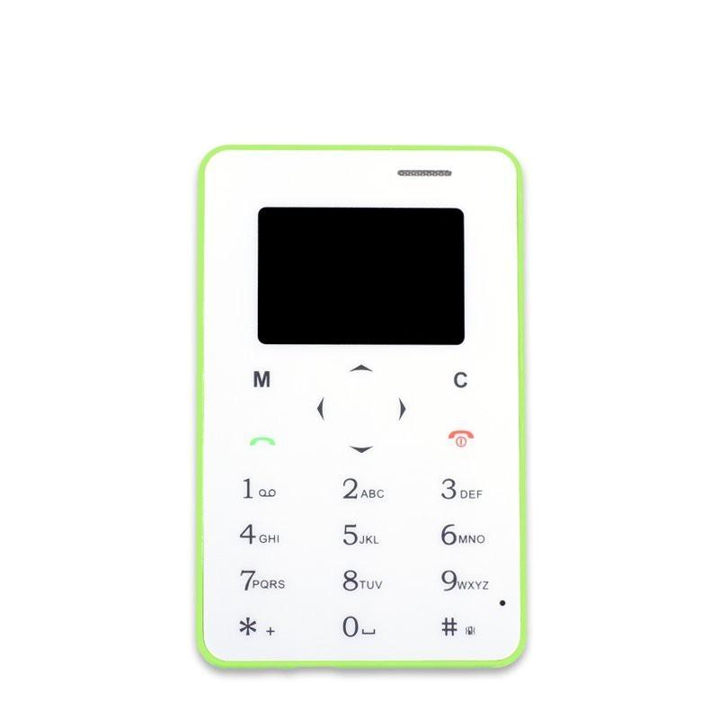 Základní telefon APEI 5C MICRO, zelená