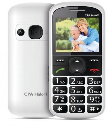 Základní telefon CPA HALO 11, bílá