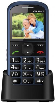 Základní telefon CPA HALO 11, modrá