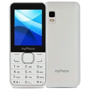 Základní telefon myPhone Classic Dual SIM, bílý