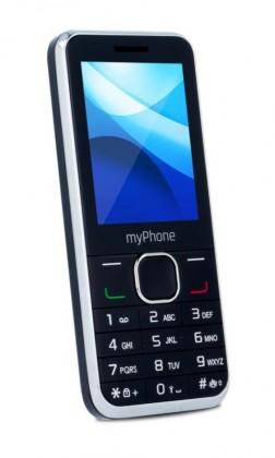 Základní telefon myPhone Classic Dual SIM, černý