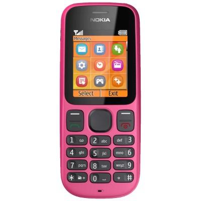 Základní telefon Nokia 100 Pink