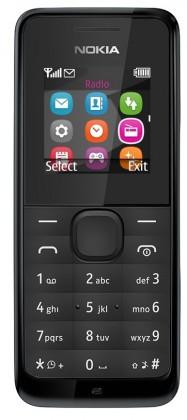 Základní telefon Nokia 105 Black