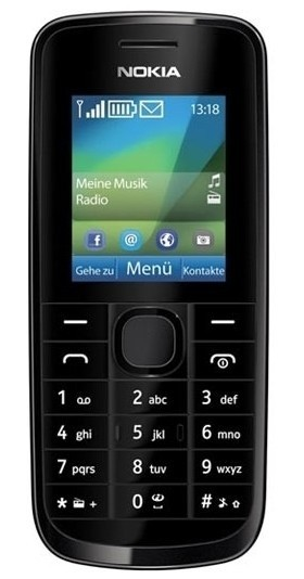 Základní telefon Nokia 113 Black