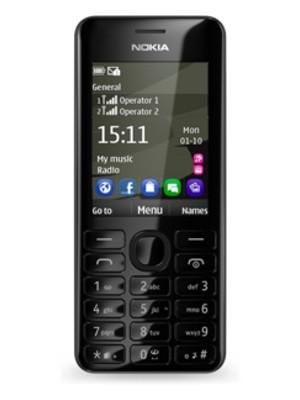 Základní telefon Nokia 206 (Dual SIM) Black