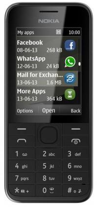 Základní telefon Nokia 208 Black
