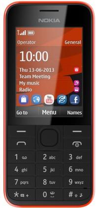 Základní telefon Nokia 208 Red