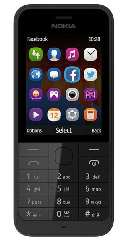 Základní telefon Nokia 225 Single SIM Black