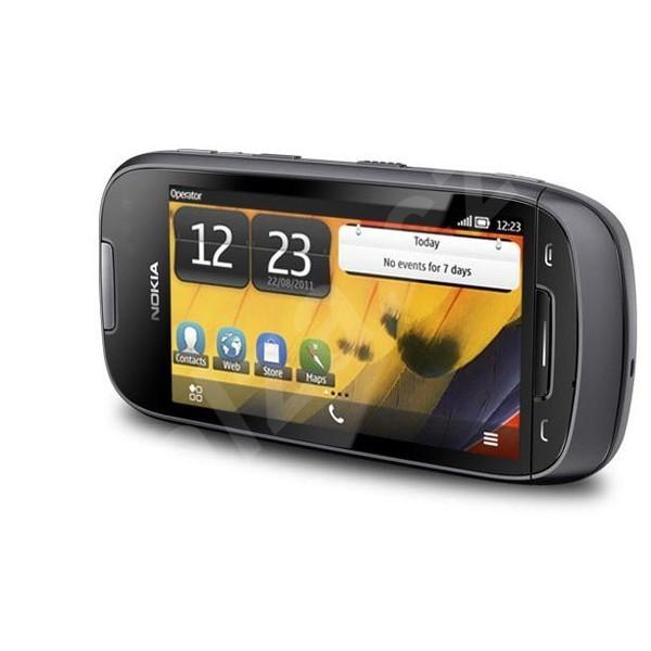 Základní telefon Nokia 701 Dark Steel
