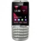 Základní telefon Nokia Asha 300 White Silver ROZBALENO