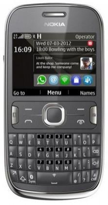 Základní telefon Nokia ASHA 302 Grey