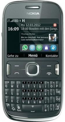 Základní telefon Nokia ASHA 302 Grey ROZBALENO