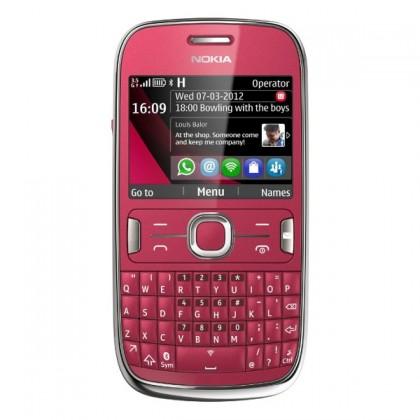Základní telefon Nokia Asha 302 Red