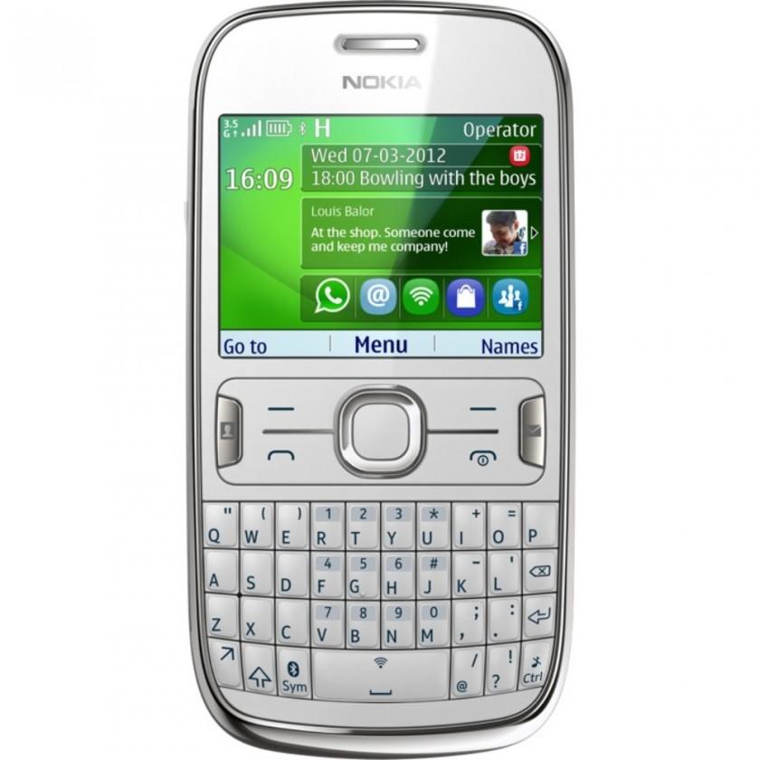 Základní telefon Nokia Asha 302 White