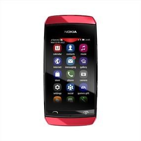 Základní telefon Nokia ASHA 305 Red