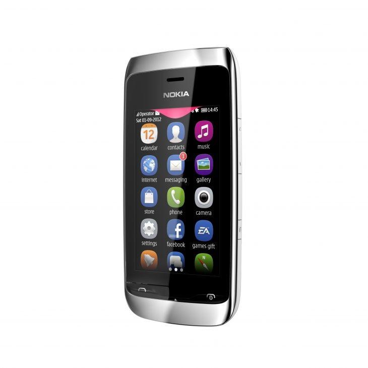 Základní telefon Nokia ASHA 309 White