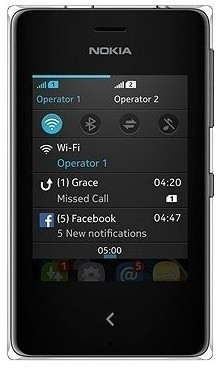 Základní telefon Nokia Asha 503 Black