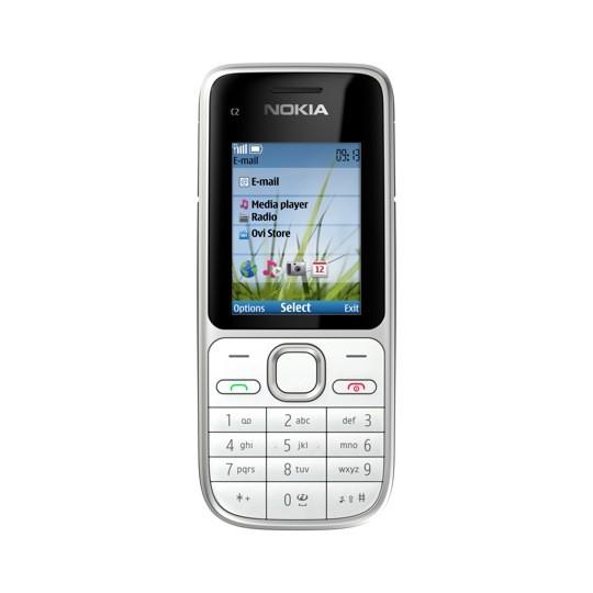 Základní telefon Nokia C2-01 Silver