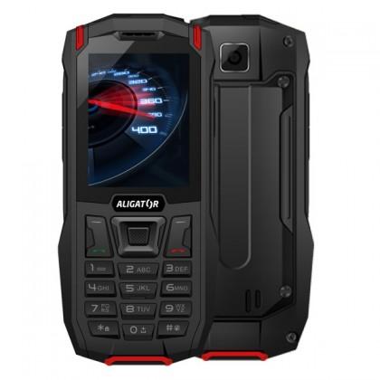 Základní telefon Odolný tlačítkový telefon Aligator K50 eXtremo, KaiOS, červená