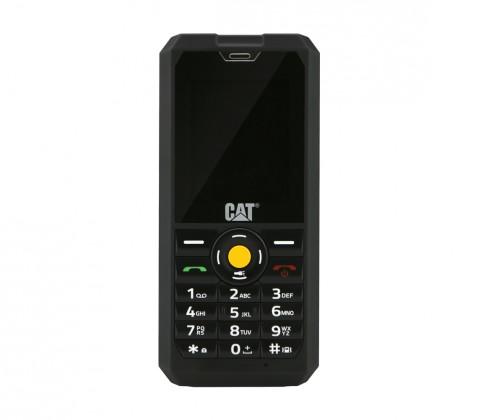Základní telefon Odolný tlačítkový telefon Caterpillar CAT B30, černá