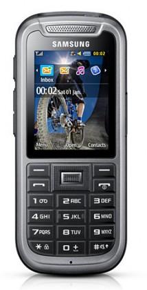 Základní telefon Samsung C3350 Xcover, šedý
