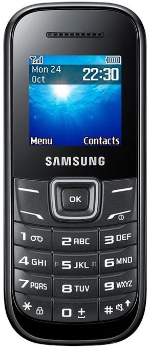 Základní telefon Samsung E1200, černý