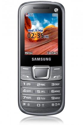 Základní telefon Samsung E2250, bílý