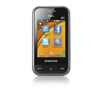 Základní telefon Samsung E2652, černý