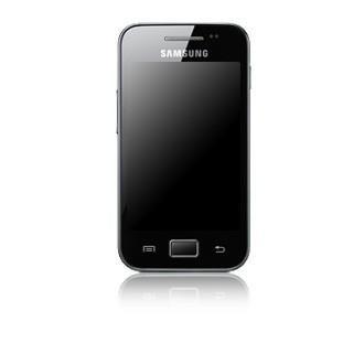 Základní telefon Samsung Galaxy Ace (S5830), fialový