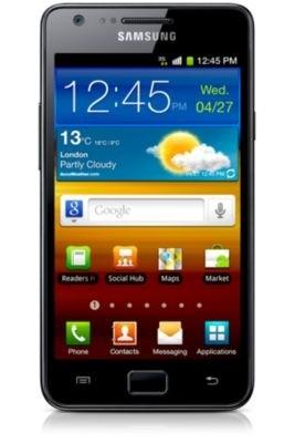 Základní telefon Samsung Galaxy S II (i9100), černý