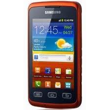 Základní telefon Samsung Galaxy Xcover (S5690), černý-oranžový