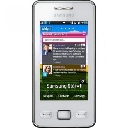 Základní telefon Samsung Star II (S5260), bílý