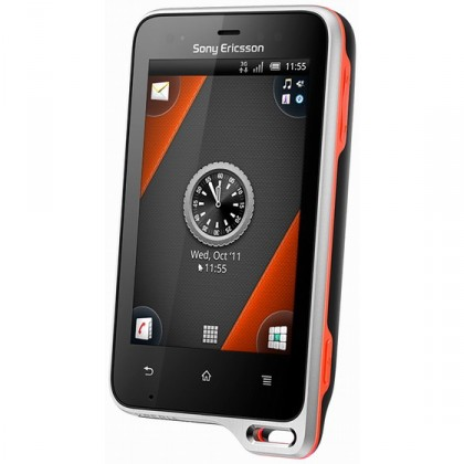Základní telefon Sony Ericsson Xperia Active Black Orange