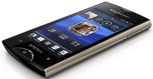 Základní telefon Sony Ericsson Xperia Ray Gold