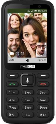 Základní telefon Tlačítkový telefon Maxcom Classic MK241, KaiOS, černá POUŽITÉ, NE