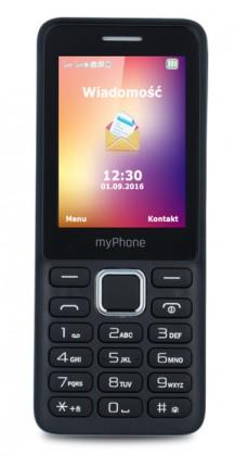 Základní telefon Tlačítkový telefon myPhone 6310, černá