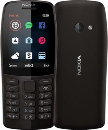 Základní telefon Tlačítkový telefon Nokia 210 DS, černá