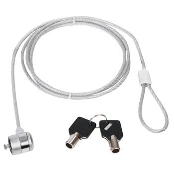 Zámek kabelový pro pc, 3m CMP-SAFE3-3
