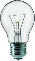 Žárovka TES-LAMP ZTES40W, E27, 40W, čirá