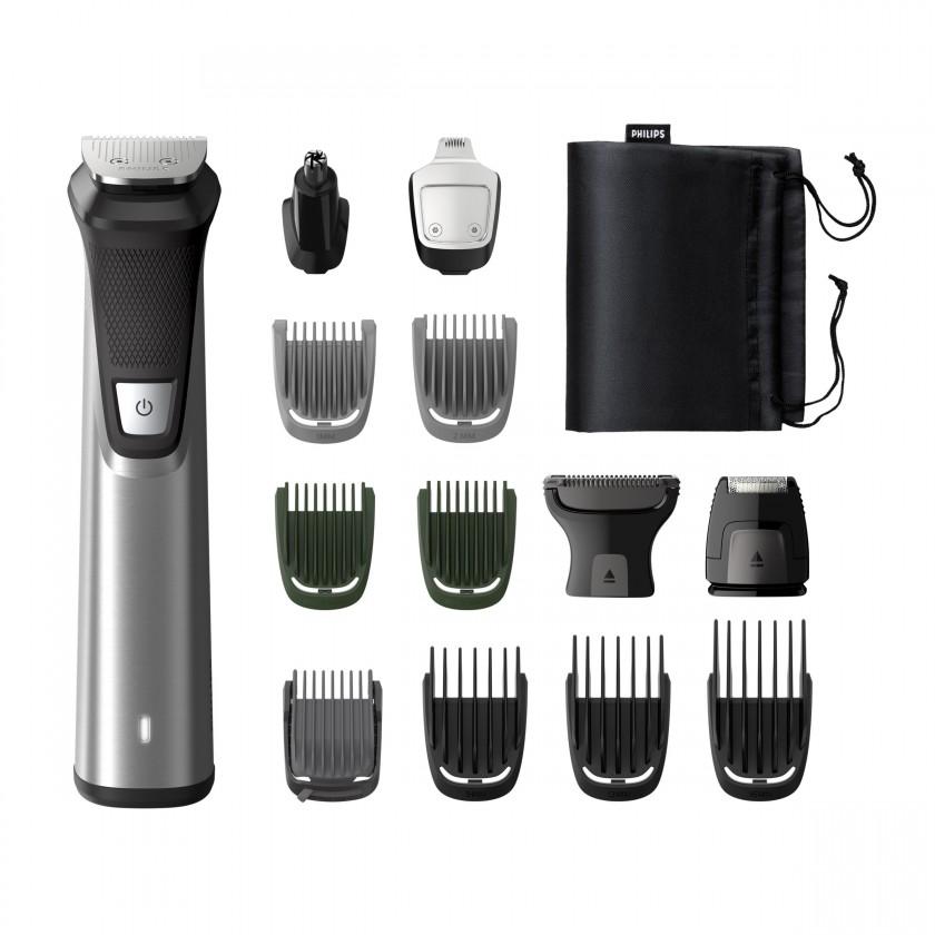 Zastřihovač Philips Series 7000 multifunkční zastřihovač vousů,vlasů a těla