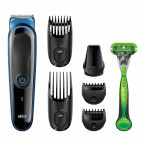 Zastřihovač vlasů a vousů Braun MGK3040, 7v1