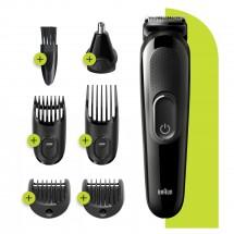 Zastřihovač vousů a vlasů Braun MGK 3220, 6v1