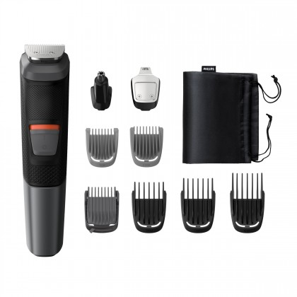Zastřihovač vousů a vlasů Multigroom Series 5000 MG5720/15, 12v1