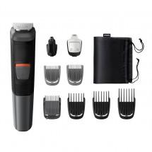 Zastřihovač vousů a vlasů Multigroom Series 5000 MG5740/15, 12v1