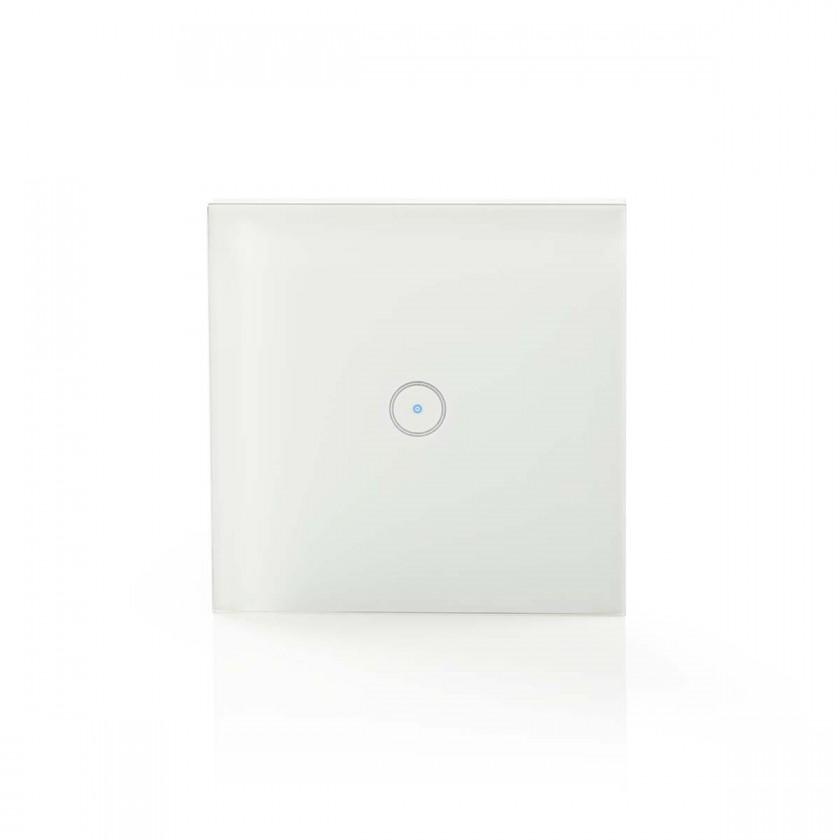 Zásuvka, rozdvojka SMART spínač osvětlení Nedis WIFIWS10WT, jednoduchý