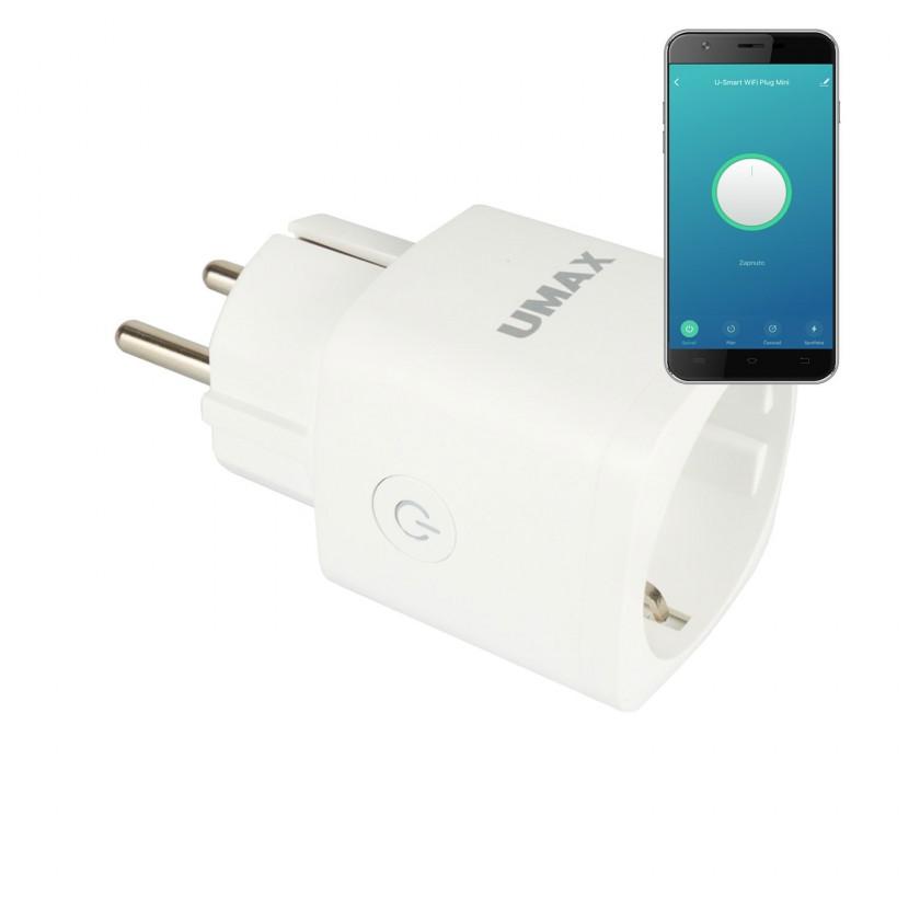 Zásuvka, rozdvojka SMART Wi-Fi zásuvka U-Smart Wifi Plug Mini UMAX