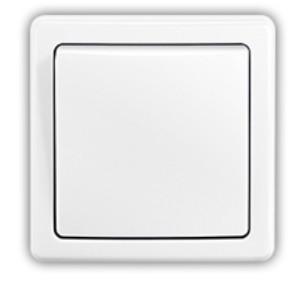 Zásuvka, rozdvojka Spínač Emos 3557G-06340 B1W,střídavý, bílý